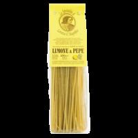 Linguine mit Limonen und Pfeffer